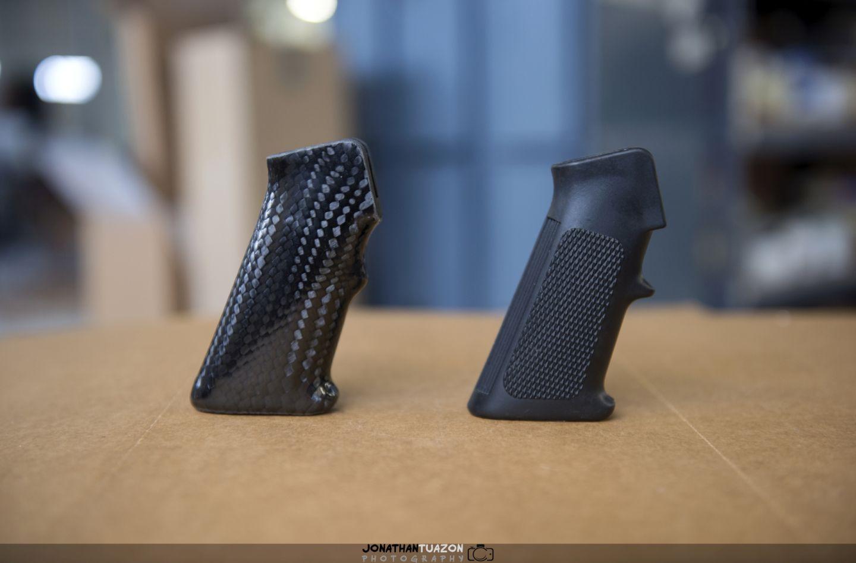 custom carbon fiber ar 15 grip epicjontuazon jonathan tuazon